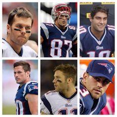 Brady, Gronkowski, Garrapolo, Amendola, Edelman & Gostkowski #SimplyTheBest #PatriotsNation