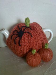 Halloween Pumpkin Tea Cosy