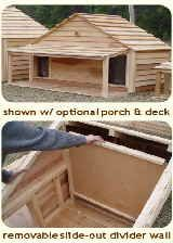 Dog House Plans.  Would be nice for the girls when the go out to play and get tired.
