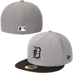 Men's Detroit Tigers New Era Gray 2-Tone Storm 59FIFTY Fitted Hat, Your Price: $34.99