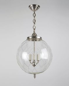 Sorenson Lantern in Burnished Nickel