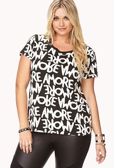 Forever 21+ Sweet Amore Tee