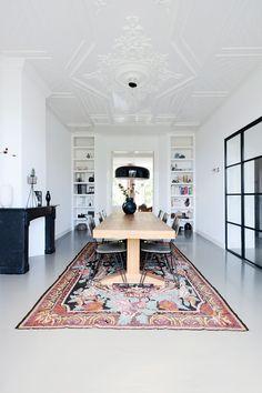 Gemarmerde betonlook by Residential Flooring // moderne living 3d Interior Design, Interior Design Inspiration, Interior Architecture, Interior Decorating, Design Ideas, Home Office Design, House Design, Office Decor, Tadelakt