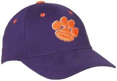 Clemson Tigers Child One-Fit Hat,  Purple/Orange Top of the World. $11.94