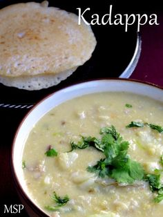 Thanjavur Kadapa - Onions and potatoes cooked with fennel and garlic flavoured coconut gravy. Side dish for Idli / Dosa. An authentic dish from Thanjavur. Veg Recipes, Curry Recipes, Side Dish Recipes, Indian Food Recipes, Side Dishes, Cooking Recipes, Healthy Recipes, Healthy Food
