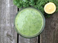 Grön Smoothie med Crunch