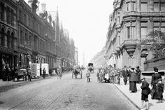 Grainger Street, Newcastle, 1900, from the book Lost England 1870-1930, Atlantic Publishing (Francis Frith Collection)