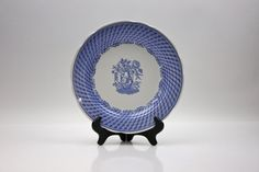 Spode Portland Vase Plate / Blue Room Collection ♥ See more at www.PeriodElegance.etsy.com  #vintagechina #spodechina #spodeplate