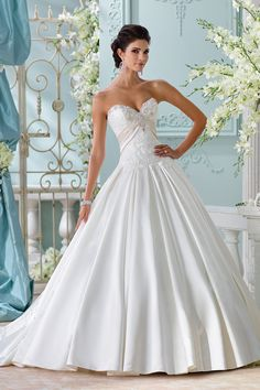 Gown by David Tutera for Mon Cheri