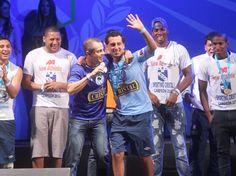 Fiesta celeste: Así festejó Sporting Cristal en el Rímac