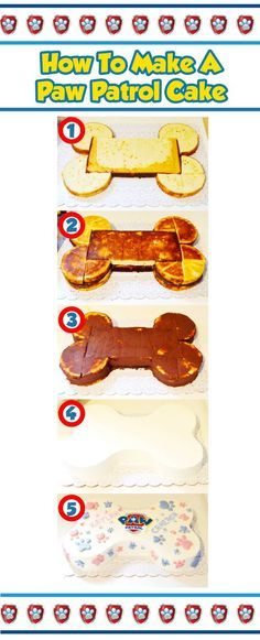 how to make a paw patrol cake                                                                                                                                                     Más