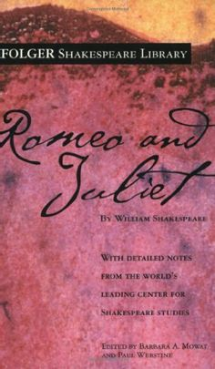 Romeo and Juliet (Folger Shakespeare Library) by William Shakespeare. $5.99. Author: William Shakespeare. Series - Folger Shakespeare Library. Publisher: Simon & Schuster; 2004 edition (December 23, 2003)