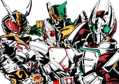 Kamen Rider, All Hero, Tmnt, Power Rangers, Vocaloid, Knight, Cool Pictures, Spiderman, Character Design