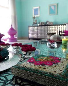 Mrs Boho: Salones: inspiración India