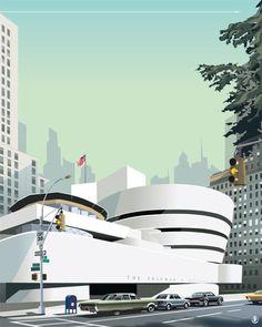 Guggenheim. NYC . Enjoy the Arts, The Met, and big city life.
