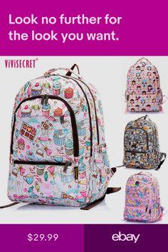 210dfe0b1b0c Women Waterproof Laptop Backpack School Shoulder bags For Boys Girls  Rucksack