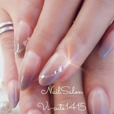 大人スモーキーなオフィスネイルヾ(o´∀`o)ノ♡♡ in 2020 Simple Nail Designs, Nail Art Designs, Hair And Nails, My Nails, Goddess Makeup, Stylish Nails, Types Of Nails, French Nails, Nail Inspo