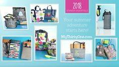 #31 Summer starts in April at Thirty-One Gifts. Be on the look out for... Pinch-Top Eye Glass Cases... Crossbody Thermal Totes... Cool Cinch Thermals... Mesh Mix Cinch Bag... In The Clear Tote & Zipper Pouch... Summer Fun Caddy... Bring A Bottle Thermals... Game On Set... Cool Zip Snackers. New prints include Slice of Summer, Going Gingham, On The Spot and more. See everything on MyThrityOne.com/PiaDavis or find your consultant in the upper right corner.