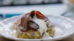 Jamie Oliver cheese and corn pancakes recipe on Jamie's Superfood