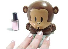 Lovely Monkey Blow Nail Drier