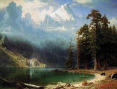 Art Print: Mount Corcoran Wall Art by Albert Bierstadt by Albert Bierstadt : Albert Bierstadt, Cool Landscapes, Landscape Paintings, Hudson River School, Framed Artwork, Wall Art, Art For Sale Online, Fantasy Paintings, Amazing Paintings