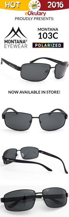 Prawdziwa chrapka dla Kierowców. Okulary polaryzacyjne Montana MP103 w wersji czarnej i brązowej. Zamów dziś i ciesz się komfortową jazdą!
