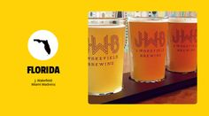 Florida - J. Wakefield Miami Madness - The Best Craft Beers From Each of the 50 States :The United States of Beer: | First We Feast