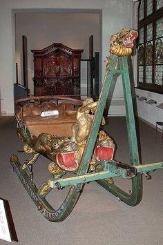 18th Century Sleigh    Landesmuseum, Zurich