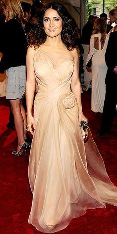 Salma Hayek (OMG, look at that dress!)                              …