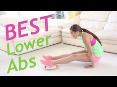 """Having trouble getting rid of your little """"pooch"""" aka lower tummy? Blogilates posted this incredible workout to help you get rid of it! Remember, these workouts are most beneficial if you're drinking tons of water and eating fruit and veggies, too!"""