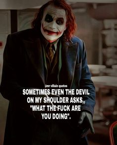 Joker quotes : Apology and trust quote joker True Quotes, Great Quotes, Motivational Quotes, Inspirational Quotes, Funny Quotes On Love, Shut Up Quotes, Funny Family Quotes, Marry Me Quotes, Devil Quotes