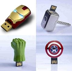 The Avengers, Sans Joss Whedon's Snappy Dialogue | 27 Reasons To Use Flash Drives From Pinterest