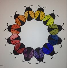Explore color, motifs and radial symmetry with this color wheel lesson. My students had a blast coming up with ideas. We started by creating...