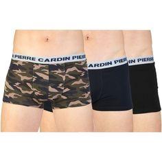 11,99 € - Pierre Cardin Underwear - PC3 NIZZA - Boxers Pierre Cardin - Sous- vêtements pour homme - Paquet avec 3 paires de caleçons en coton -  Composition  ... 2db7d56e0fc
