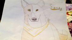 Cute dog I drew