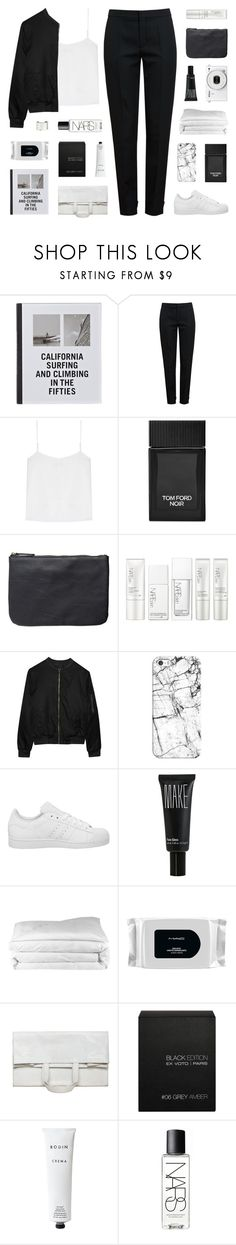 """""""if i were sorry"""" by kiiaa ❤ liked on Polyvore featuring Patagonia, Chloé, T By Alexander Wang, Tom Ford, Pieces, NARS Cosmetics, Alygne, Casetify, adidas and Make"""