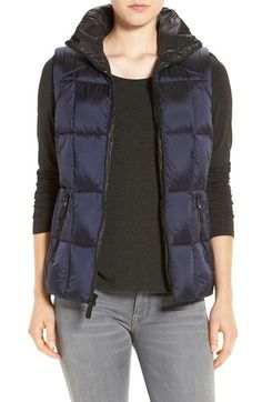 ANDREW MARC Marc New York by Andrew Marc Metallic Down Vest. #andrewmarc #cloth #