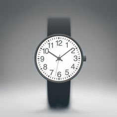 #Muji Round Face #Watch. What an amazing piece of #minimalist product #design.