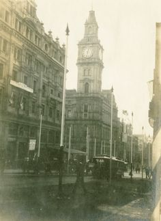 Melbourne Post Office 1901