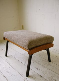 boomerang ottoman. by truck furniture.