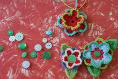 little woollie: Fun flower make