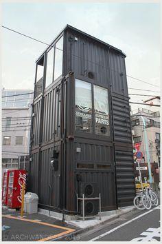 Barista Pro Shop Tokyo, Japan | #shippingcontainer
