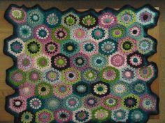 Hexagon Crocheted Blanket
