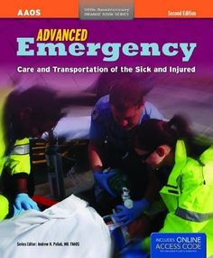 Advanced Emergency Care and Transportation of the Sick and Injured with Access Code (Orange Book) by American Academy of Orthopaedic Surgeons (AAOS). $84.21. Publication: February 26, 2011. Publisher: Jones & Bartlett Publishers; 2 edition (February 26, 2011). Edition - 2