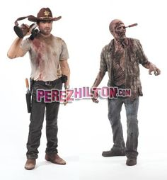 Walking Dead Figurines: Brains Not Included