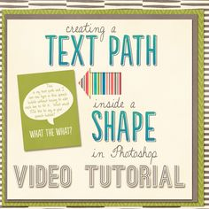 Creating a text path inside a shape in photoshop