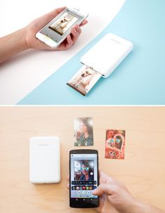 ✨Print any pic from your phone instantly, wirelessly, MAGICALly. ✨ The Polaroid Zip Printer.