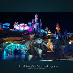 Tokyo DisneySea Mermaid Lagoon | 東京ディズニーシー マーメイドラグーン
