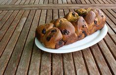 Brioche de calabaza y chocolate Muffin, Chocolate, Breakfast, Food, Pumpkins, Breads, Morning Coffee, Schokolade, Muffins