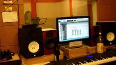 Female recording in GM studio